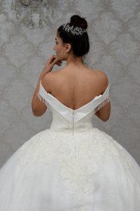 Bruidsjurken passen
